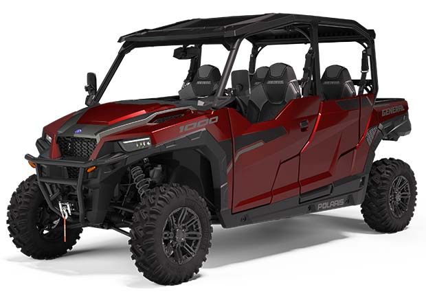 Polaris General 4 1000 Burgundy